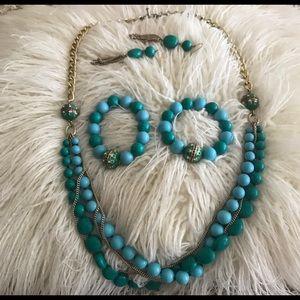 Beautiful Set (necklace, bracelets and earrings)